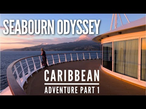 Seabourn Odyssey Caribbean Review (Part 1) in 4K