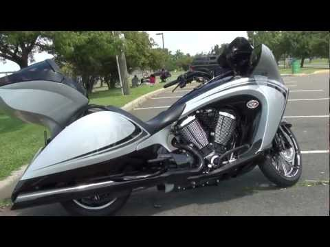 2011 Victory Vision Tour with Arlen Ness extras and D&D exhaust