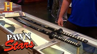 Pawn Stars: Cutting A Deal For Kill Bill Signed Swords (Season 13) | History