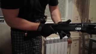 Как разряжать ружье
