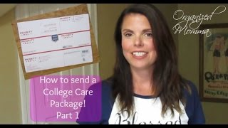 How To Pack A College Care Package: Package Ideas!