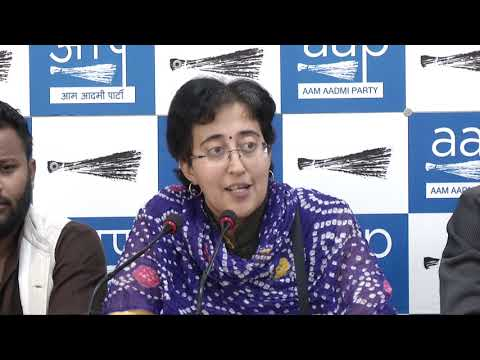 AAP Leader Atishi Briefs Media on BJP Councillor Abusing and Assaulting AAP's MCD LOP