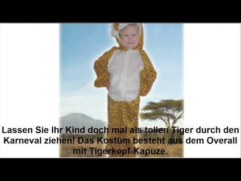 AN28 Tiger Kostüm Kostüme Tigerkostüm Tierkostüm Fasching Karneval