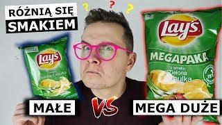 DUŻA PACZKA CHIPSÓW vs. MAŁA - KTÓRE LEPSZE?!