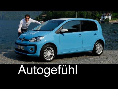 VW Volkswagen up! FULL REVIEW test driven beats/move new Facelift neu 2016/2017