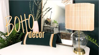 DIY Boho Bedroom Decor
