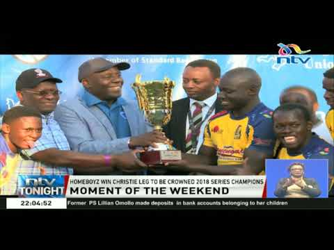 Moment of the Weekend: Homeboyz win Christie Leg to be crowned 2018 series champions