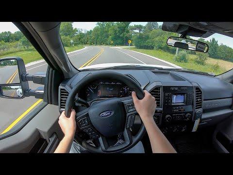 2021 Ford F-350 6.7 Powerstroke Dually - POV Test Drive (Binaural Audio)