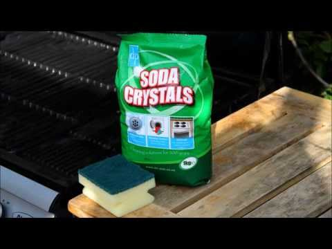 How to Clean your Barbecue using Soda Crystals