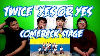 TWICE   YES OR YES COMEBACK STAGE (FUNNY FANBOYS)