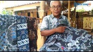 Marheno Jayanto Tuangkan Cerita Legenda dalam Motif Zie Batik