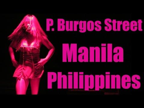 Philippines Nightlife: P. Burgos Street, Makati Manila - Red Light District 🇵🇭