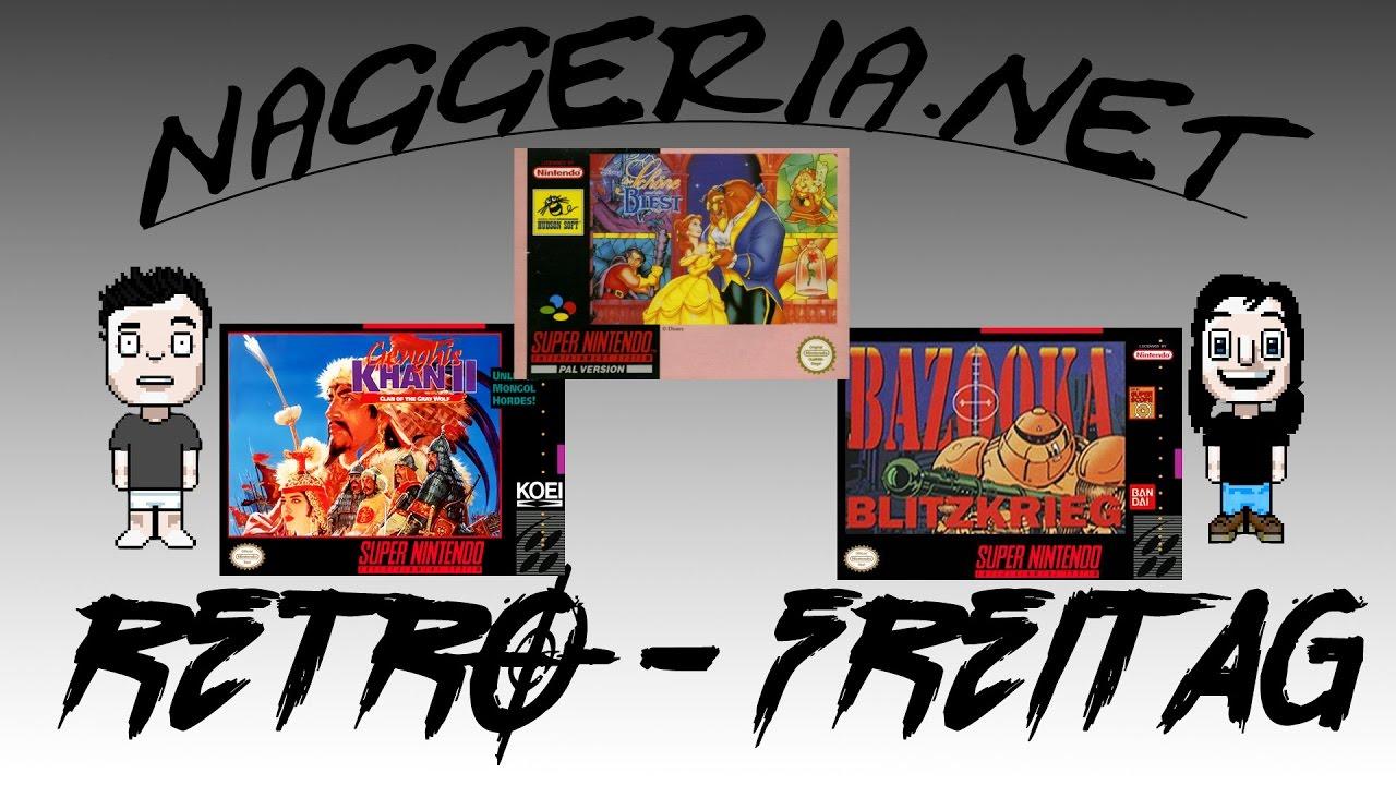 [Retro-Freitag] Genghis Blitzkrieg Biest 2 (Super Nintendo)