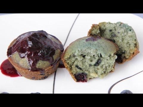 Blue Blueberry Cupcakes Recipe - Vegan Baking - Season 2 Wigs Blue Celebration