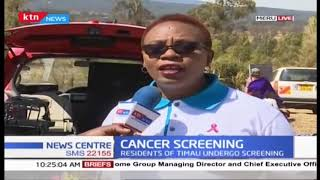 Meru County first lady presides over cancer screening exercise in Timau