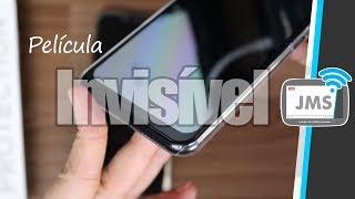 A Película Invisível de Vidro Temperado e Capa de Acrílico para o Celular