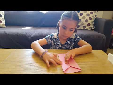 Geldbeutel falten für Kinder