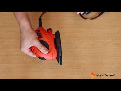 Levigatrice Mouse BLACK&DECKER KA161BC-QS Video Recensione