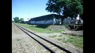 preview picture of video 'Tren de Aristóbulo del Valle a Villa Rosa'