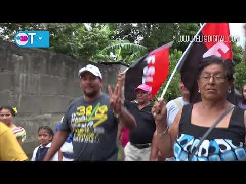 Masaya respalda con caravana de las Victorias a la formula Unida Nicaragua Triunfa