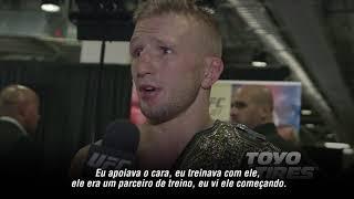 UFC 217: Entrevista nos bastidores com TJ Dillashaw