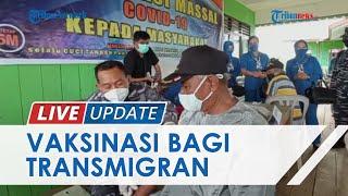 Bantu Percepat Herd Immunity, Lantamal XIII Tarakan Gelar Vaksinasi Covid-19 untuk Warga Transmigran