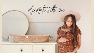 DECORATING BABYS NURSERY | gender neutral & simple