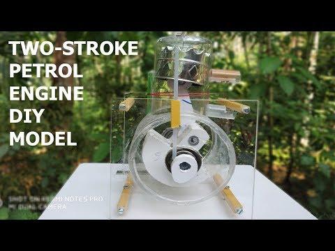 Two-Stroke Petrol Engine Model DIY Tutorial