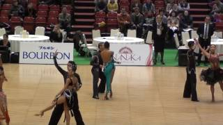 WDSF /JDSF The 19th Tokyo Open Latin【Re dance Rumba】LEE IlGwon & KWAK MiRi