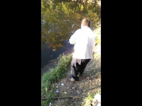 Pesca di lago di aslykul