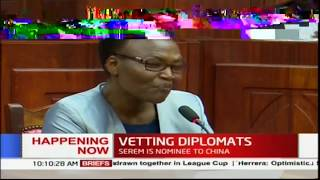 Sarah Serem meets MPs as she seeks chance to safeguard Kenya's interest abroad