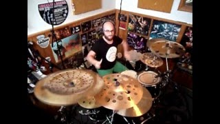 Balint Wargha Can't Look Back Drum Cover (form Steve Lukather)