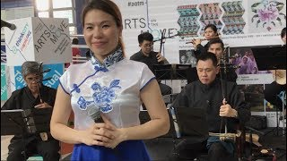 Teo Chew Opera Performs at KL's Train Station (1)