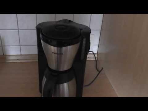 Kaffeemaschine mit Thermoskanne einfach guten Kaff