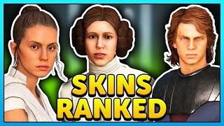 All Star Wars Battlefront 2 Hero Skins Ranked - Worst to Best!