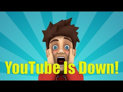 YouTube Goes Down! What Is Your Back Up Plan?