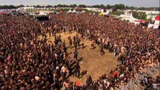 wall of death - wacken metalcore