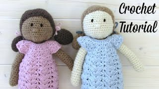 How To Crochet An EASY Doll - Amigurumi Doll Pattern