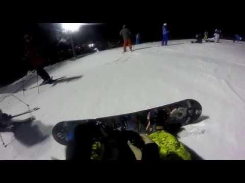Видео: Видео горнолыжного курорта Хибины Сноу Парк-Кировск в Мурманская область
