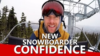 #26 Snowboard begginer – Ways to build confidence