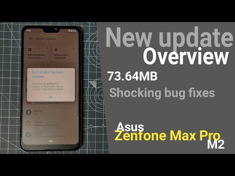 Zenfone Max Pro M2 New Update 73.64MB | Shocking Bug Fixes | Changelog Overview