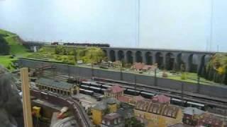 preview picture of video 'Strasshof das Heizhaus Eisenbahnmuseum - Modellbahnen'