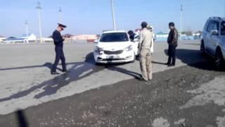 Авария в Атырау Казахстан