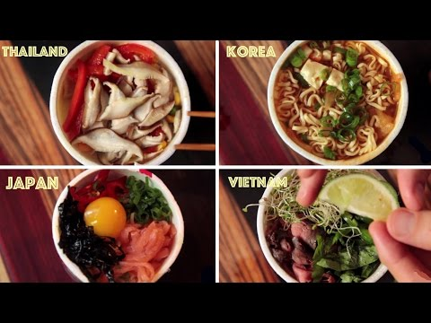 Clever Ways To Transform Cup Noodles Into Actual Food