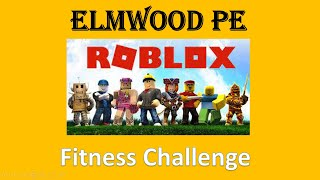 Roblox fitness challenge