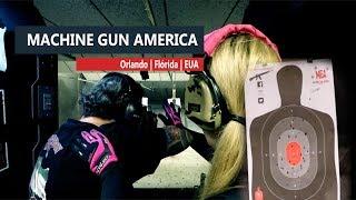 Armas militares no EUA; atire conosco!