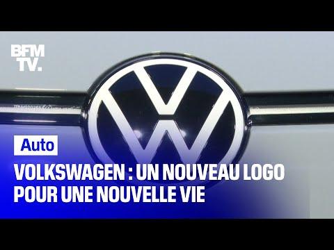 Volkswagen adopte un nouveau logo pour entrer dans l'ère de l'électrique Volkswagen adopte un nouveau logo pour entrer dans l'ère de l'électrique