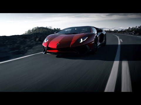 autokaarten The Lamborghini Aventador LP 7504 SV Superveloce..