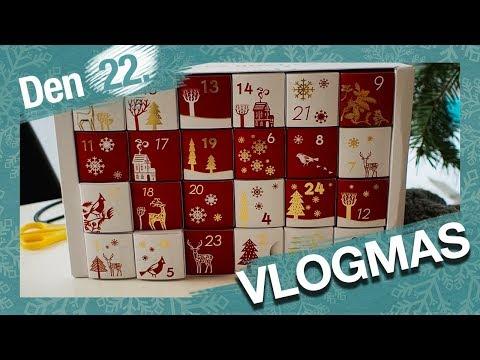 VLOGMAS Den 22. | Co jsme si rozbalily v adventních kalendářích?