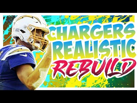 Rebuilding The Los Angeles Chargers - Madden 20 Connected Franchise Realistic Rebuild